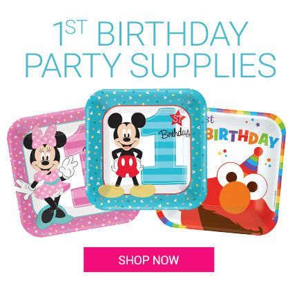 Kids Birthday, First Birthday, Mickey, Infants, Cutlery, Decorations