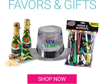 New Year's Favors and Gifts