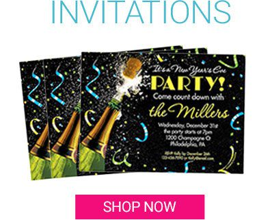 New Years's Invitations