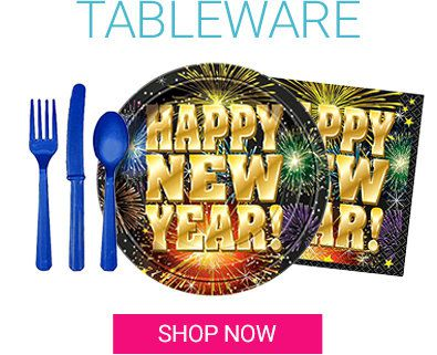 New Year's Tableware