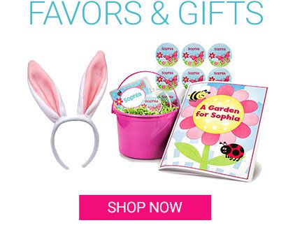 Easter Spring Favors and Gifts