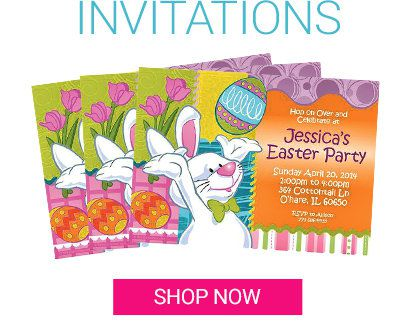 Easter Spring Invitations