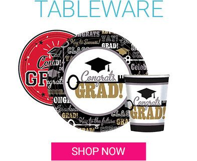 Graduation, Tableware