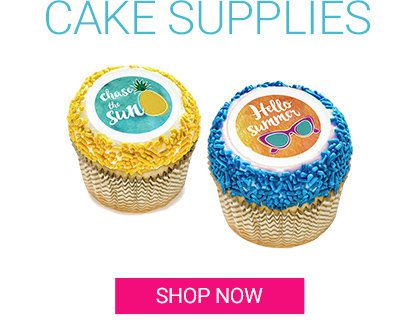 Summer, Cake, Supplies