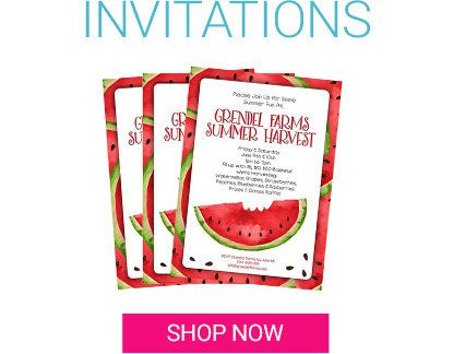 Summer, Invitations