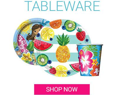 Summer, Tableware
