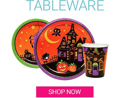 Halloween, Tableware