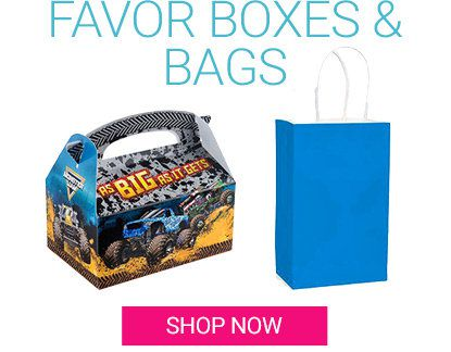 Shop Favor Bags & Boxes