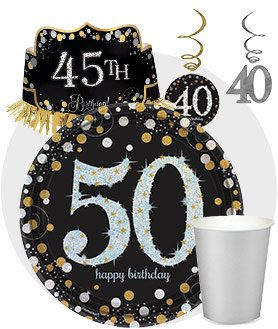 Birthday Party Supplies And Ideas