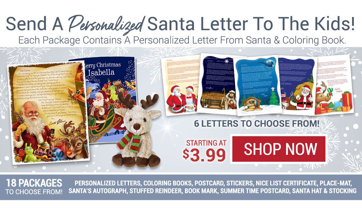Personalized Santa Letters