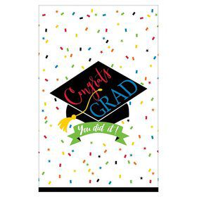 100% Done Grad Table Covers (3)