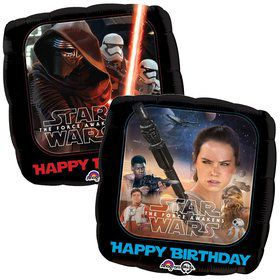 "18"" Star Wars Force Awakens Birthday Balloon"