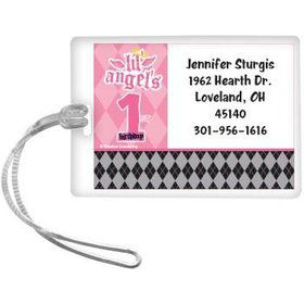 1st Birthday Angel Personalized Luggage Tag (each)
