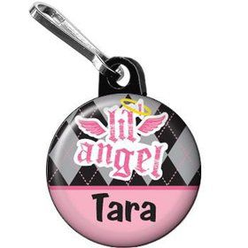 1st Birthday Angel Personalized Mini Zipper Pull (each)
