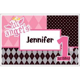 1st Birthday Angel Personalized Placemat (each)
