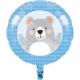 "Bear 18"" Metallic Balloon (1)"