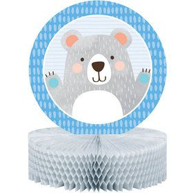 Birthday Bear Honeycomb Centerpiece (1)