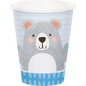 Birthday Bear Hot/Cold 9oz Cup (8)