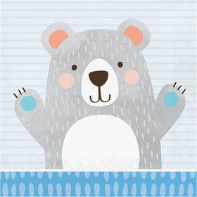 Birthday Bear Luncheon Napkin (16)