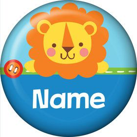 1st Birthday Boy Animal Personalized Mini Magnet (Each)