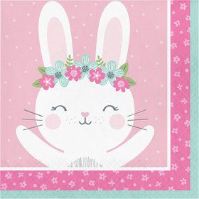 Birthday Bunny Luncheon Napkin (16)