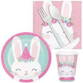 1st Birthday Bunny Snack Pack For 16