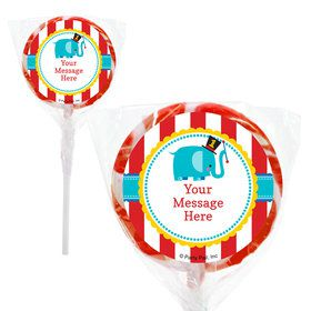 "1st Birthday Circus Personalized 2"" Lollipops (20 Pack)"