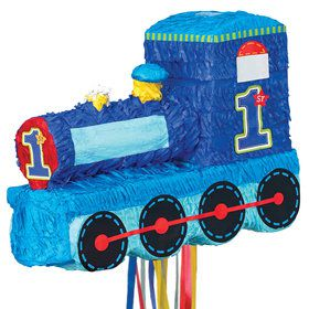 1st Birthday Train Pinata