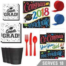 2018 Going Places Deluxe Tableware Kit (Serves 18)