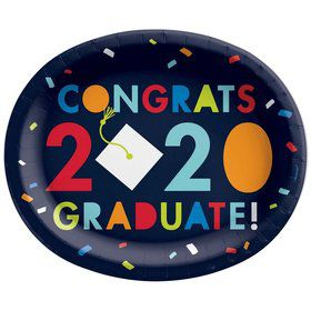 2020 Graduate Oval Lunch Plates (18)