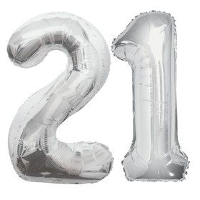 21st Birthday Balloon Bouquet Kit