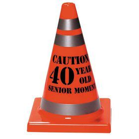40 Year Old Senior Moment Cone