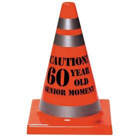 60 Year Old Senior Moment Cone