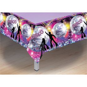 70's Disco Plastic Tablecover