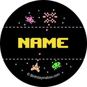 80s Personalized Mini Stickers (Sheet of 24)