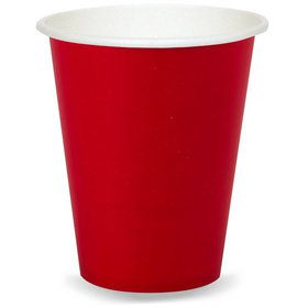 9 oz. Cup - Red (24)