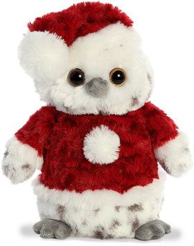 "9"" Plush Jolly Owl (1)"