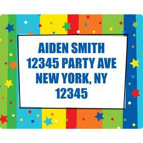 A Year to Celebrate Address Labels (Sheet Of 15)