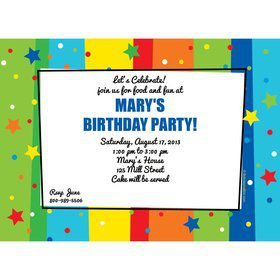 A Year to Celebrate Invitation (Each)