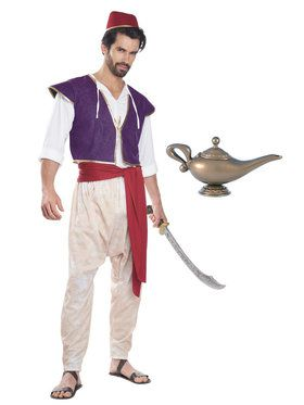 Adult Aladdin Costume Kit