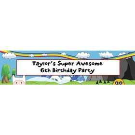 Adventure Time Personalized Banner (Each)