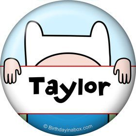 Adventure Time Personalized Mini Magnet (Each)