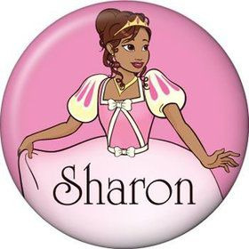 African American Princess Personalized Mini Magnet (each)
