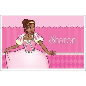 African American Princess Personalized Placemat (each)