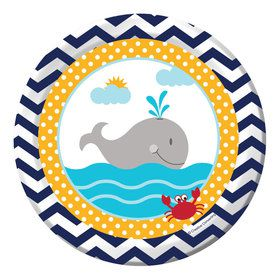 "Ahoy Matey 7"" Cake Plates (8 Count)"