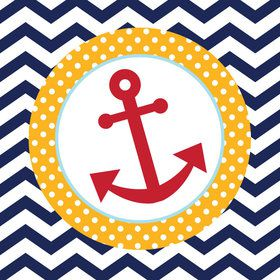 Ahoy Matey Lunch Napkins (16 Count)