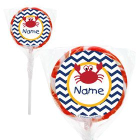 "Ahoy Matey Personalized 2"" Lollipops (20 Pack)"