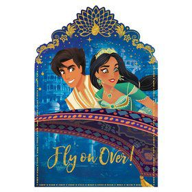 Aladdin Postcard Invitation