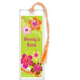 Aloha Luau Personalized Bookmark (each)