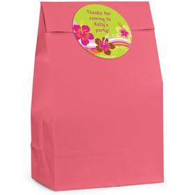 Aloha Luau Personalized Favor Bag (Set Of 12)